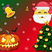 3D Christmas Snow ‑ Halloween