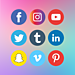 SocialBar ‑ Social Media Icons